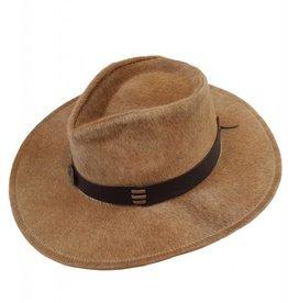 Hair Leather Australian Style Hat