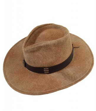 Hair Leather Australian Style Hat