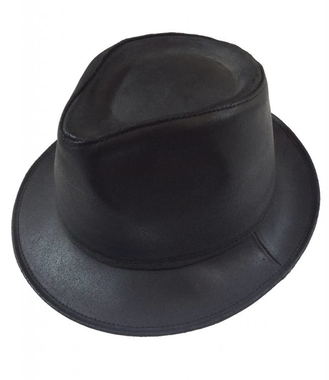 Oiled Leather Tango Style Hat