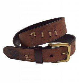 ''Allen'' 100% Argentine Leather Polo Belt