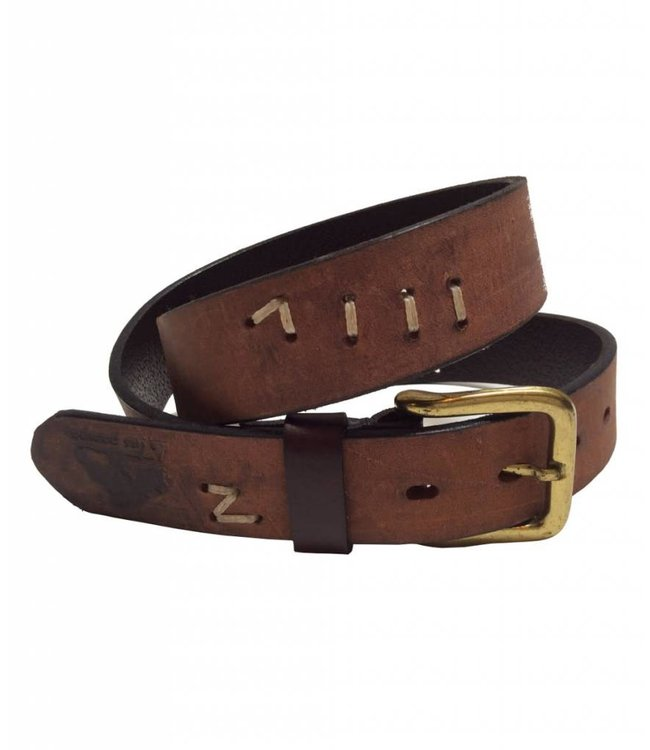 ''Allen'' 100% Argentine Leather Polo Belt