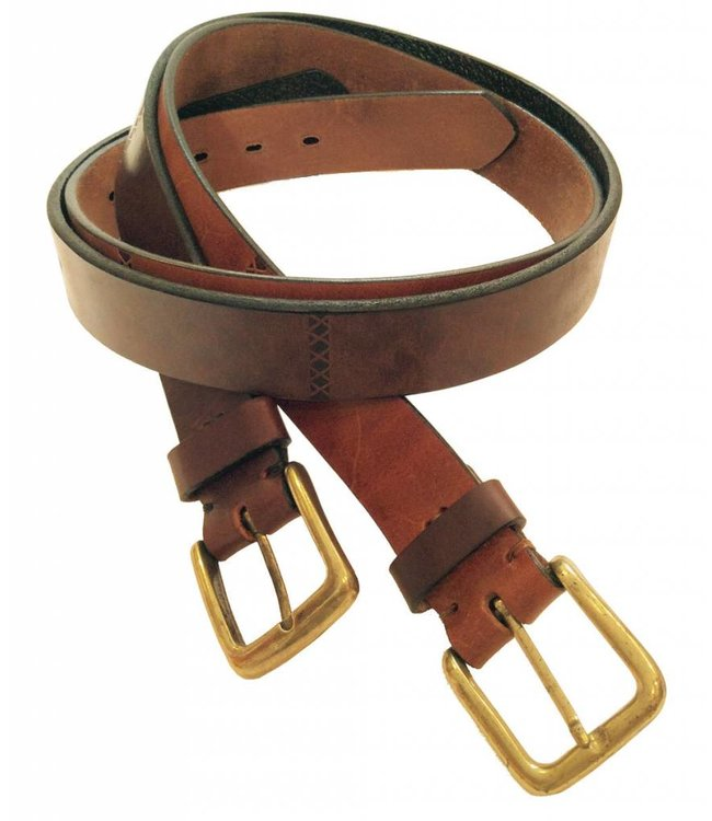 ''Fulton'' 100% Argentine Leather Polo Belt