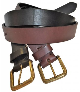 """Islas"" 100% Argentine Leather Polo Belt"