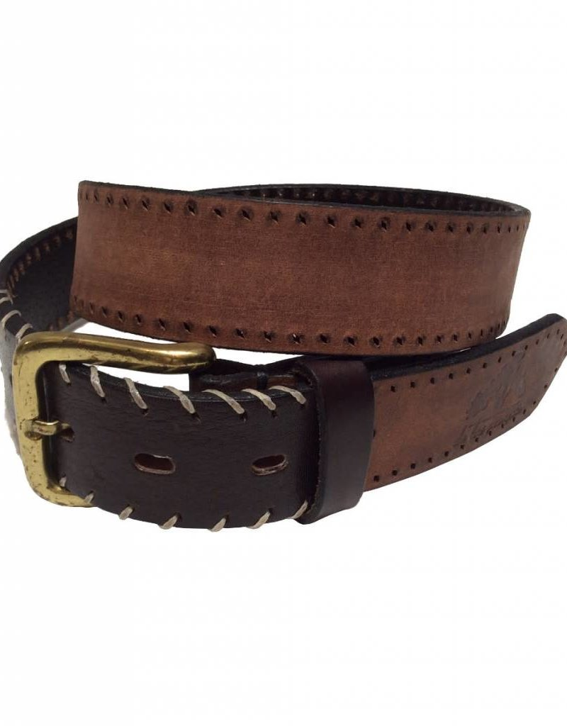 ''Gaiman'' 100% Argentine Leather Polo Belt with Stitches