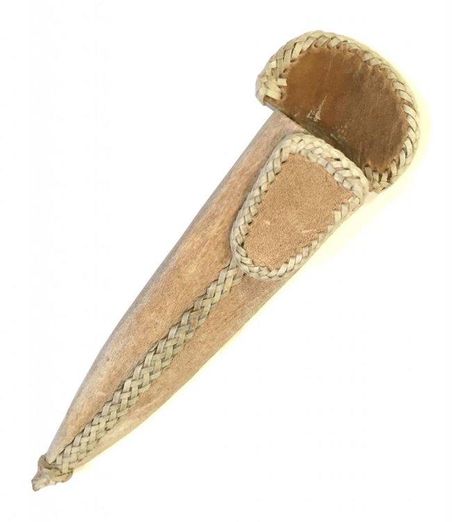 """Rawhide Leather Sheath for Gaucho Knife 5.5"""""""