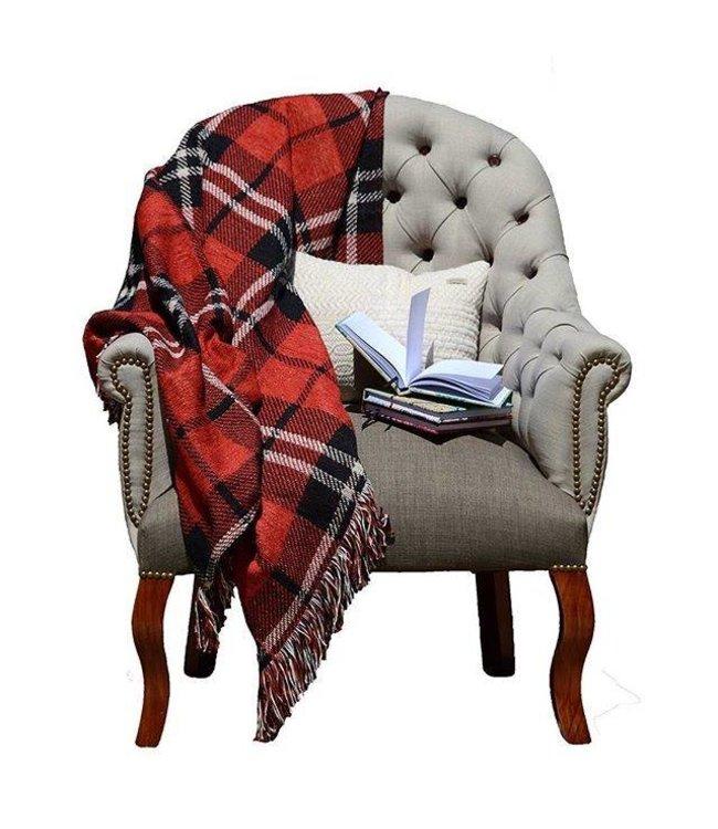 Huitru Throw Blanket Plaid
