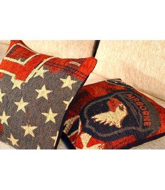 Huitru Cushion Case Military Blue