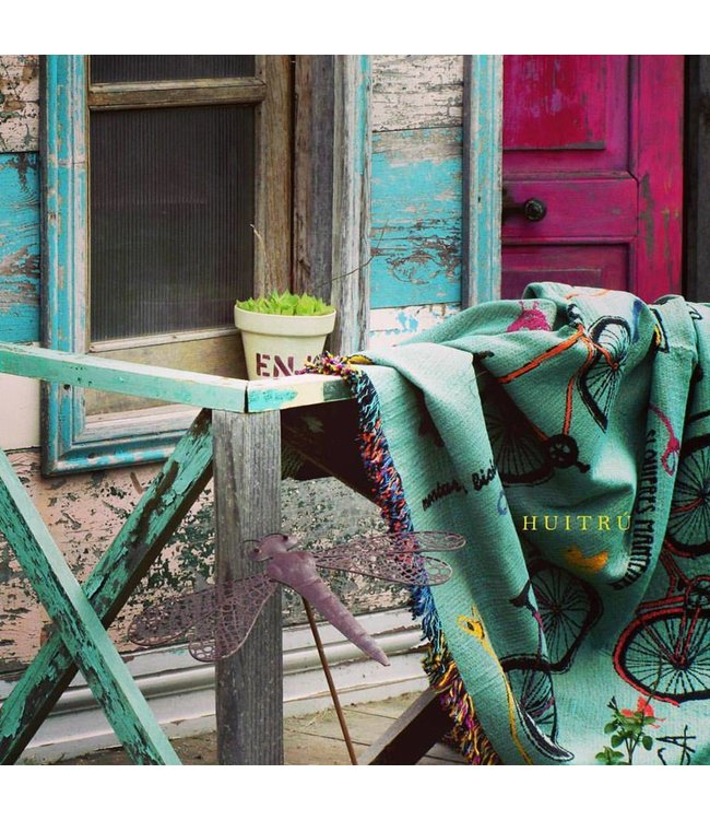 Huitru Throw Blanket Bicycle