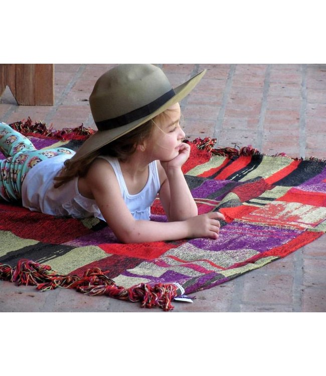 Huitru Throw Blanket Collage Multicolor