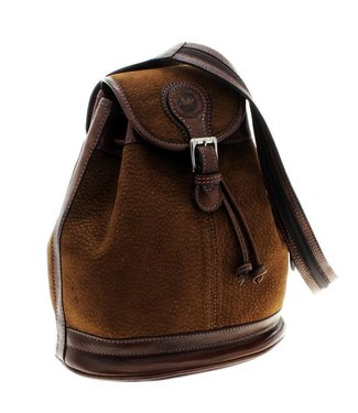 Los Robles Polo Time Exclusive Capybara and Cow Leather Backpack