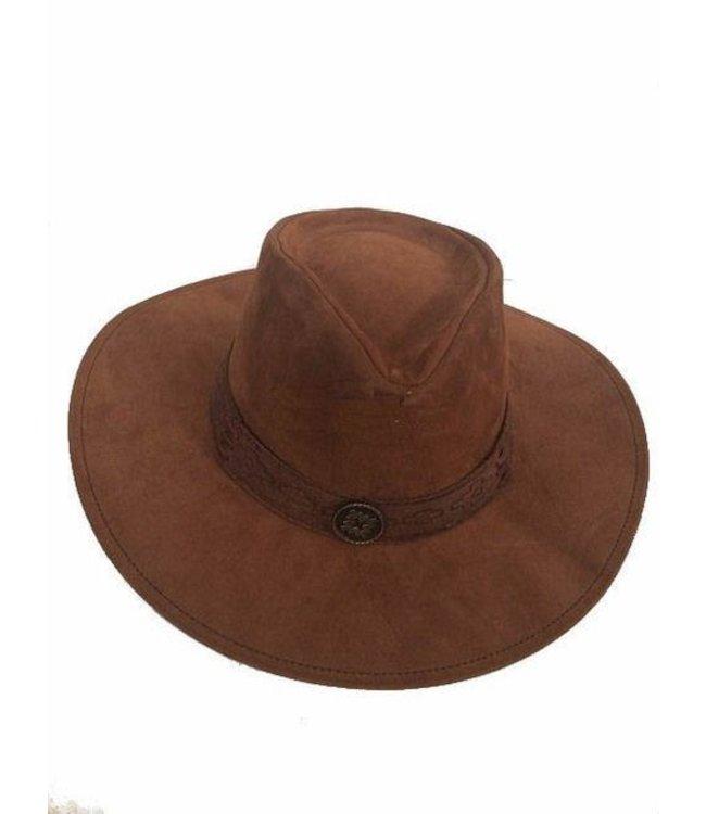 Nubuck Australian Style Hat