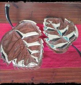 Alpaca Silver Leaf Craft w/Goat Horn