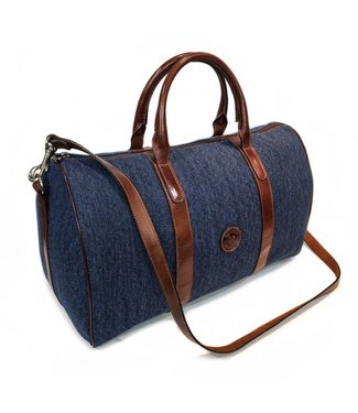 Los Robles Polo Time Denim Duffel Bag Weekend
