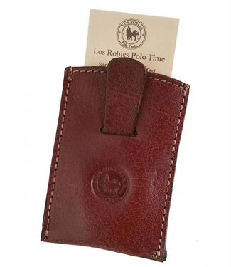 Los Robles Polo Time 100% Cow Leather Cardholder