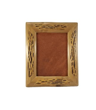 Bamboo and Wood Frame