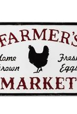 """Farmer's Market"" Sign 17""L"