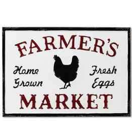 """Farmer's Market"" Sign 17""L"