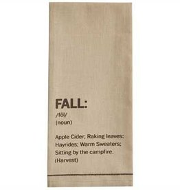Fall Printed Dishtowel