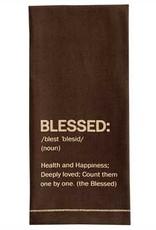 Blessed Printed Dishtowel