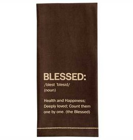 Blessed Printed Dishtowel
