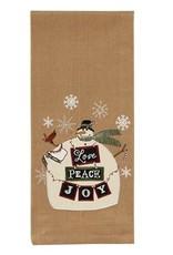 Love Peace Joy Dishtowel