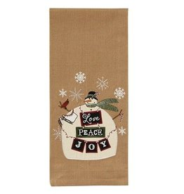 Love Peace Joy Dishtowel