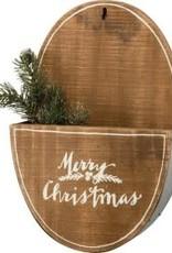 Wall Pocket - Merry Christmas