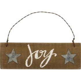 Slat Sign - Joy