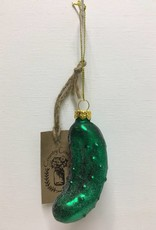 Christmas Pickle Ornament - Glass