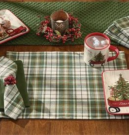 Cedarberry Placemats Set / 4