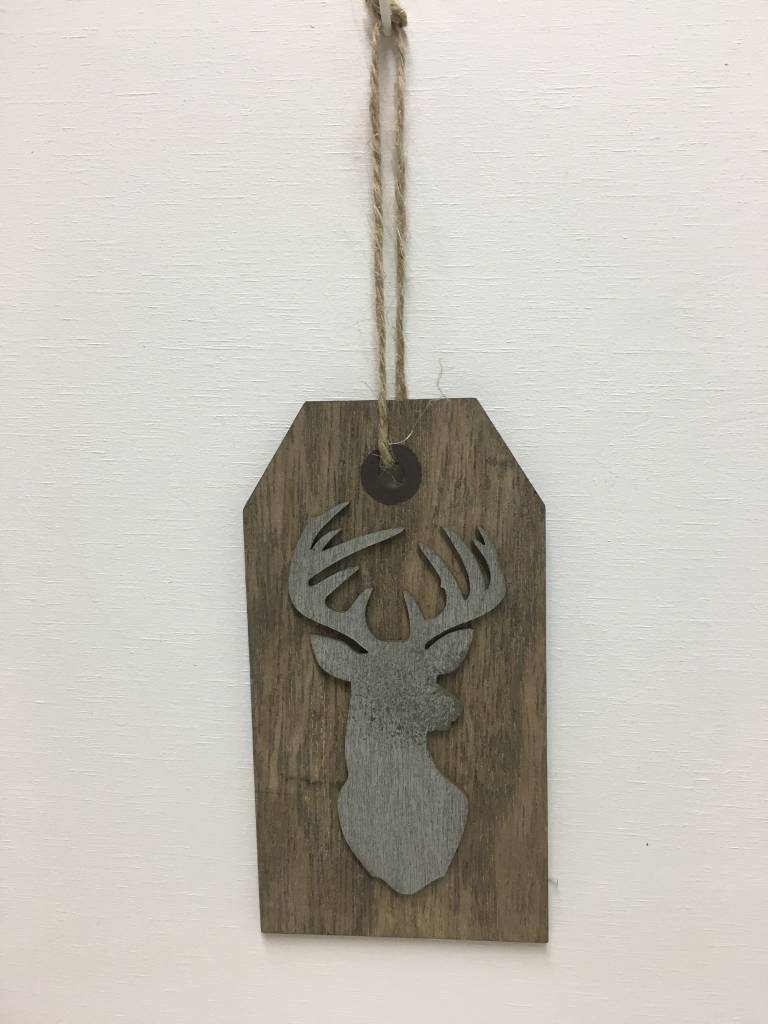 Deer Wood Tags
