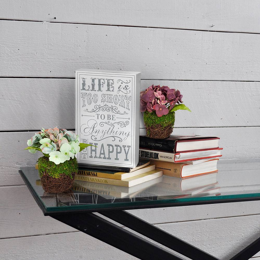 Small Block Sign - Life is...