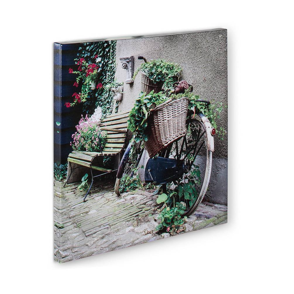 Bicycle and Bench Canvas -Indoor/Outdoor