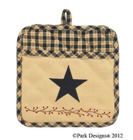 Star Patch Pot Holder