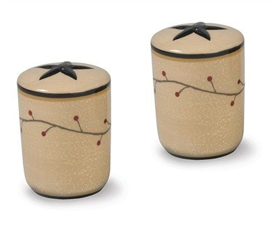 Star Vine Salt & Pepper Shakers