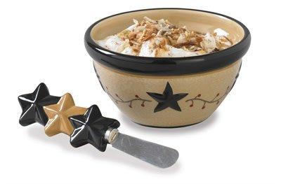Starvine Dip Bowl & Spreader