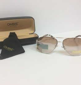 Gold Tortoiseshell Sunglasses with case