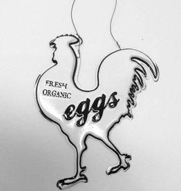 Farm Chicken Ornament