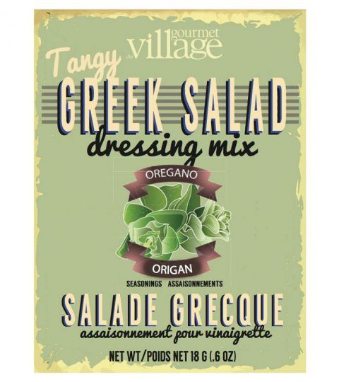 Retro Greek Salad Dressing Mix