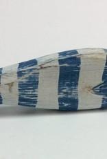 Mini fish Blue/White stripe