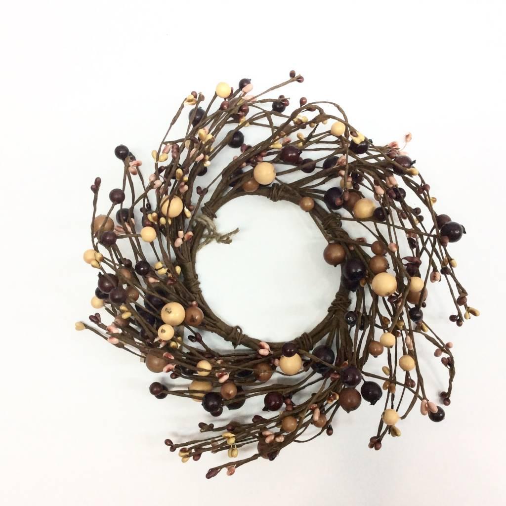 Cinnamon Pip Berry Wreath - Small