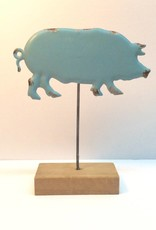 Tin Pig on a Stand
