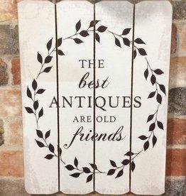 """Best Antiques Sign 12""""x16"""""""