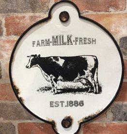 Cow Metal Wall Art