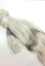 Blaze Scarf Grey 90cm x 190cm