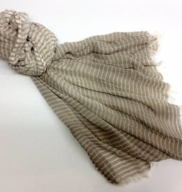 Kennedy Scarf Coffee 90cm x 180cm