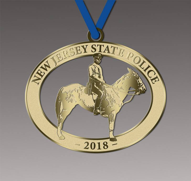 2018 Mounted Trooper Ornament