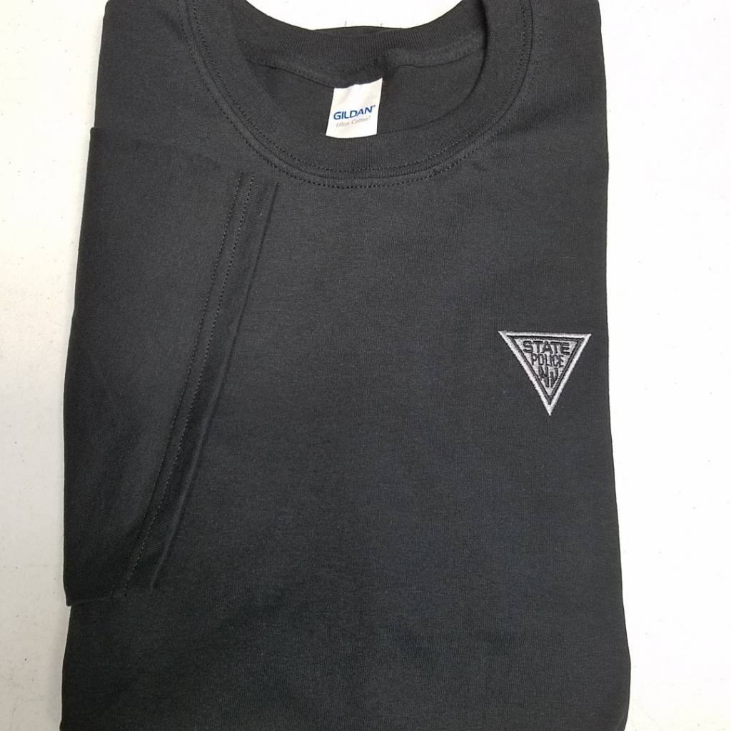 Embroidered Small Triangle Tee