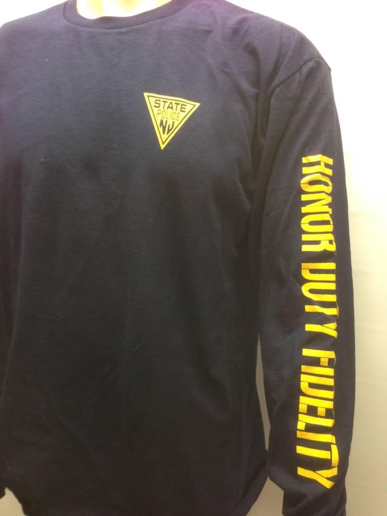 Long Sleeve Tee Shirt  Navy
