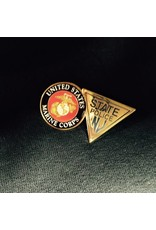 State Police/Marine Lapel Pin